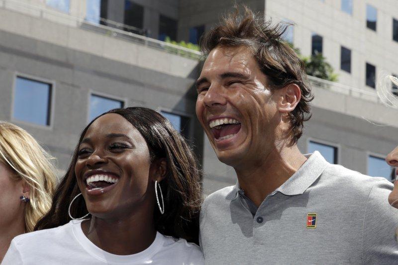 Slaone Stevens, Rafael Nadal