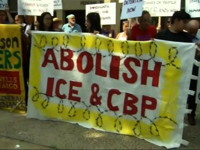 Immigration Protests Go On Amid Reunion Efforts