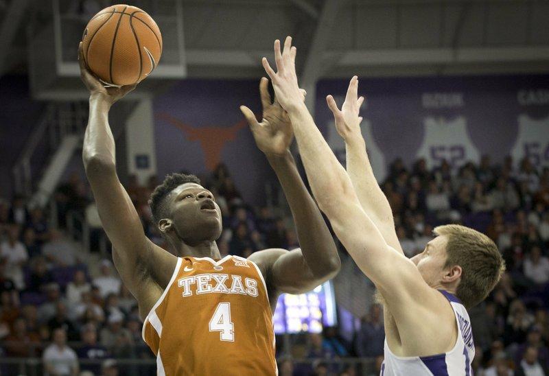 Texas vs TCU mens basketball