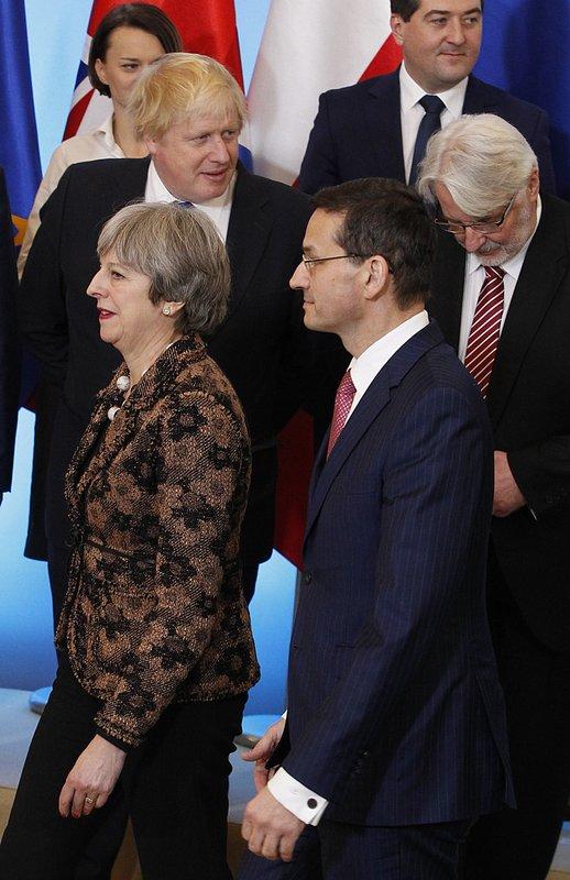 Theresa May, Mateusz Morawiecki