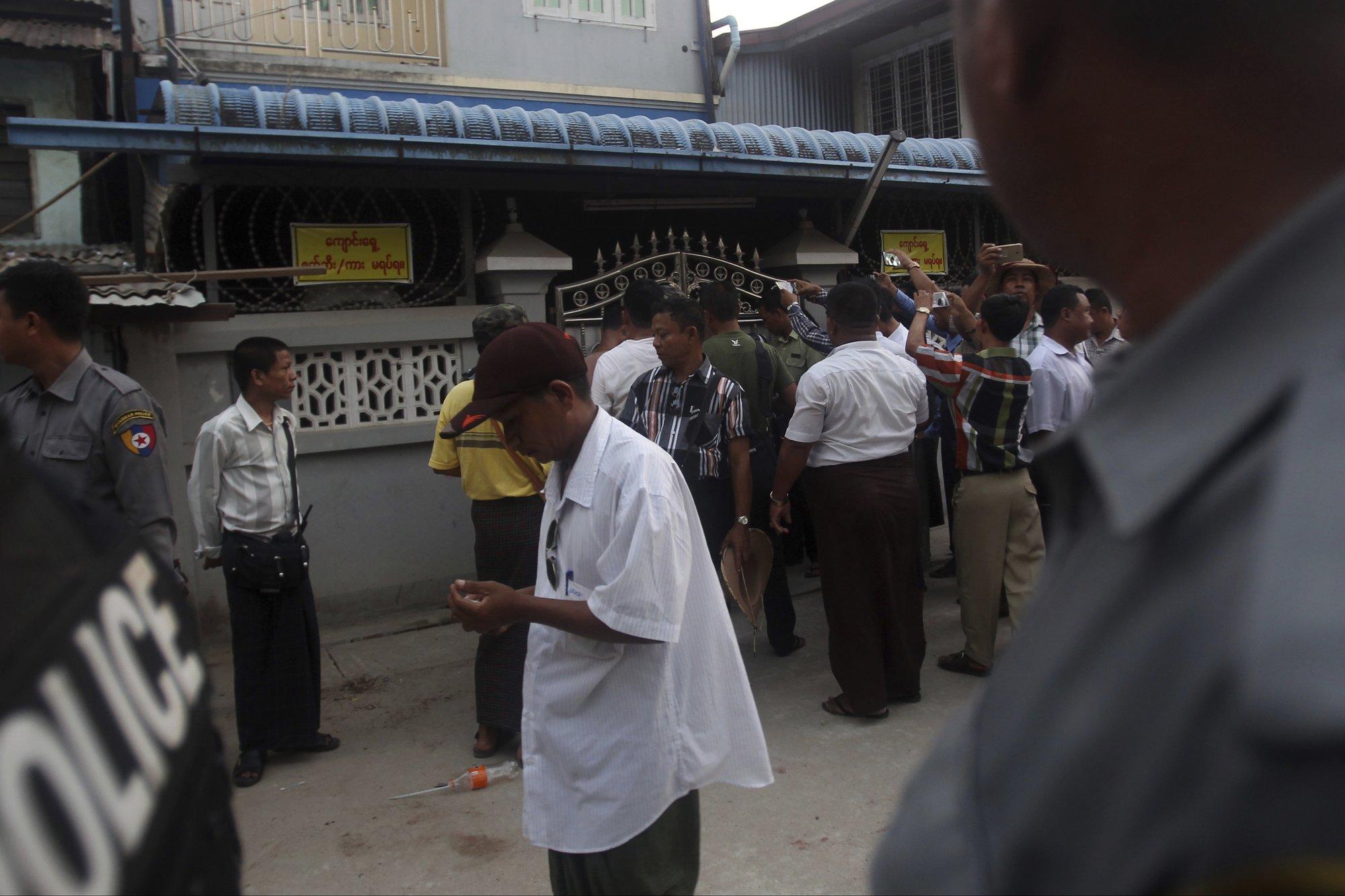 Yangon protesters force closure of Muslim schools in Myanmar