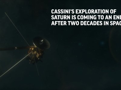 Cassini to End 20-Year Mission With Fiery Crash