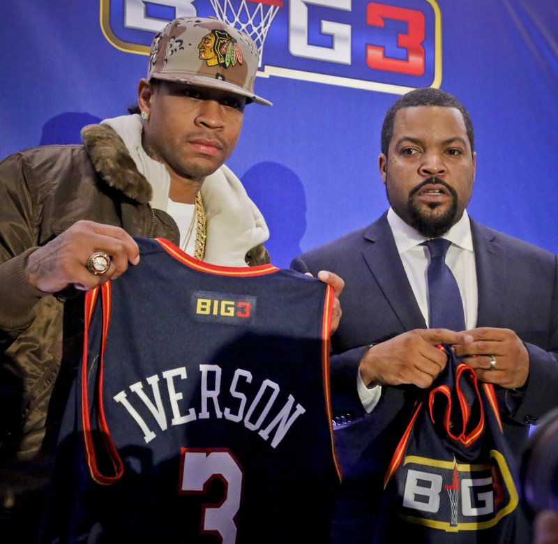 san francisco 40b61 d52cd Still got game? Ice Cube, Iverson back 3-on-3 hoops league