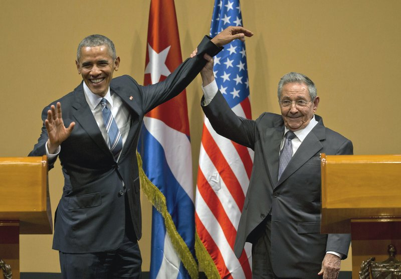 Raul Castro, Barack Obama