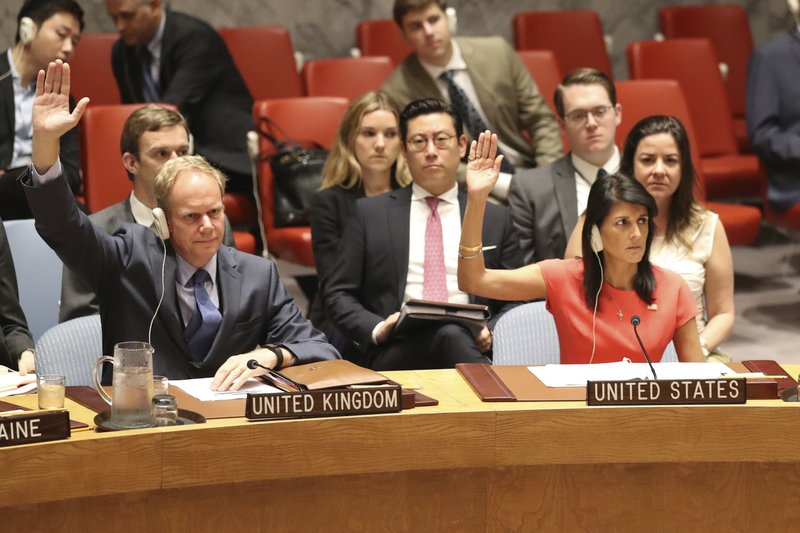 Matthew Rycroft, Nikki Haley