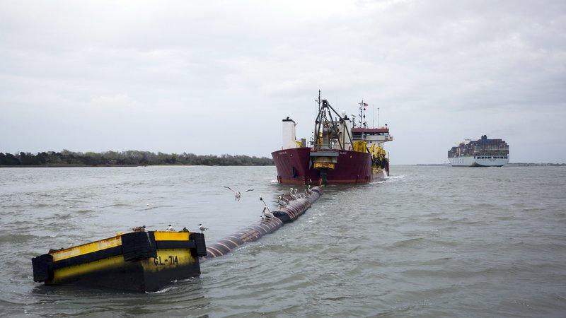 $973M deepening of Savannah harbor nearing halfway point