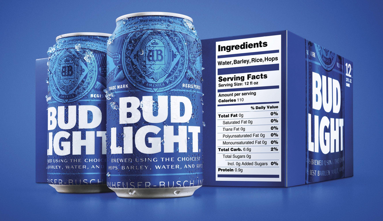 calorias de una cerveza tecate light