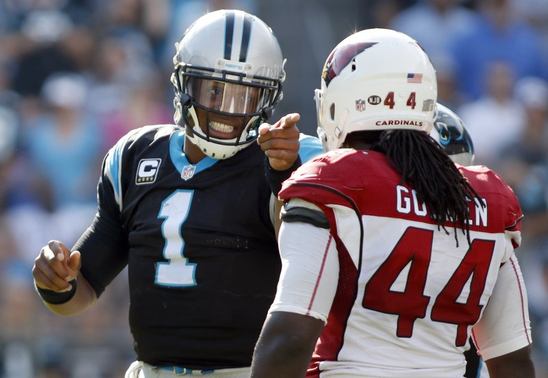 Cam Newton, Markus Golden
