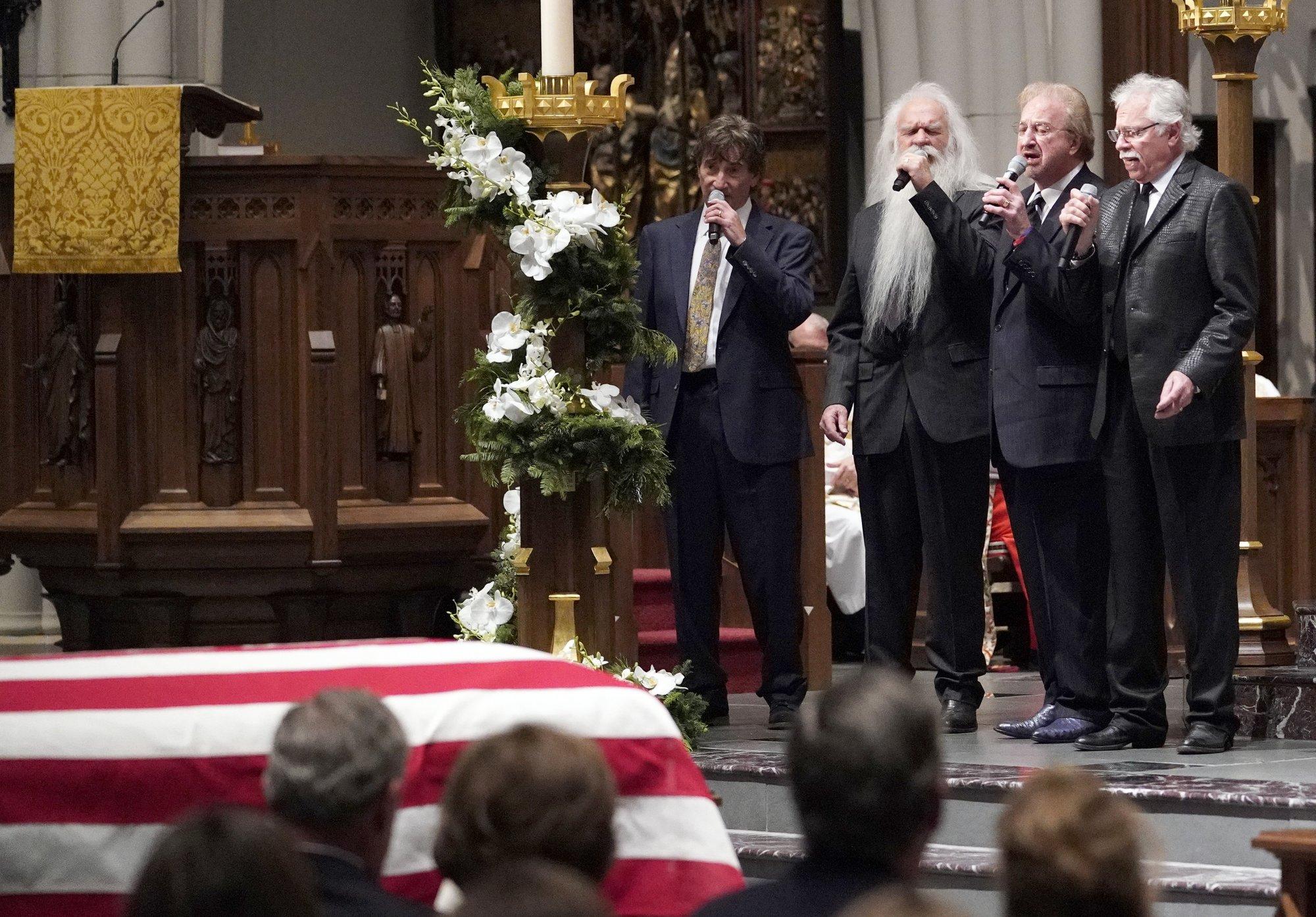 News Guide George Hw Bush S Final Farewell Burial In Texas