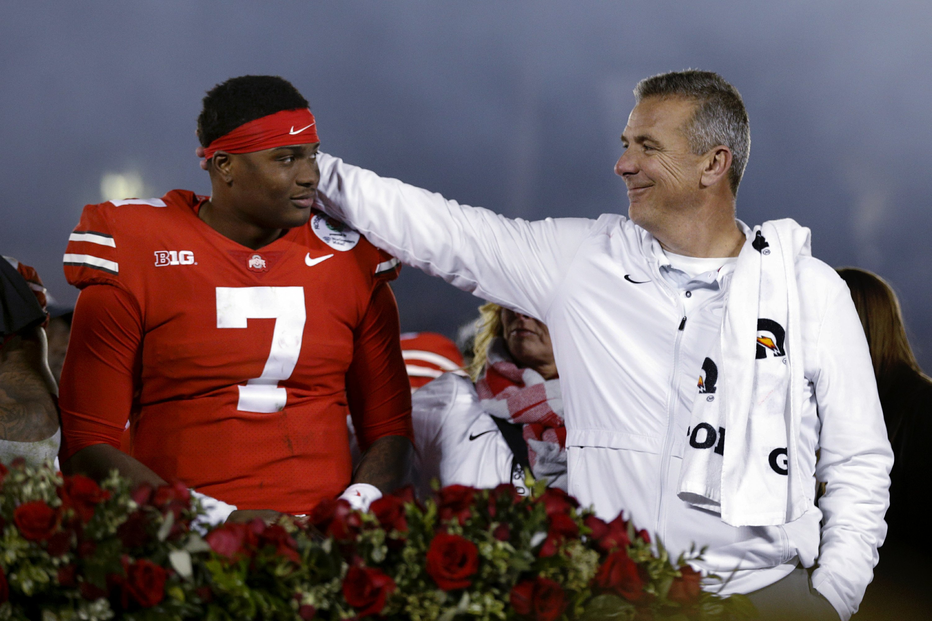 Ohio State tops Washington 28-23 in Meyer's Rose Bowl finale