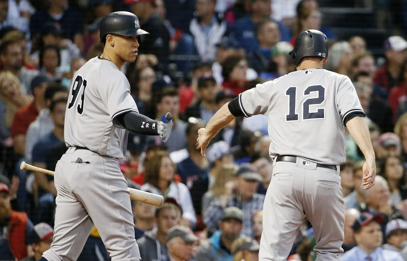 Chase Headley, Aaron Judge
