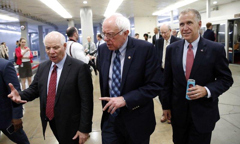 Ben Cardin, Bernie Sanders, Thom Tillis