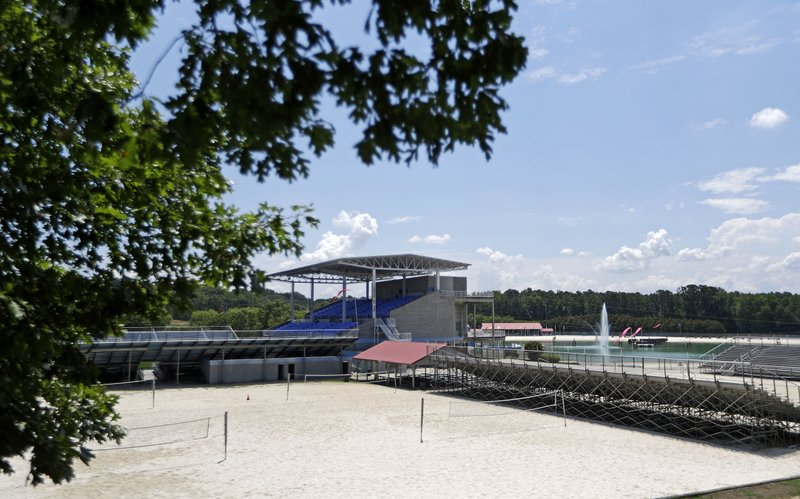 In This Tuesday July 19 2016 Photo Clayton County International Park Formerly Known As Atlanta Beach Home Of The 1996 Summer Olympic