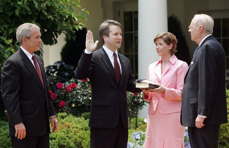 George W. Bush, Brett Kavanaugh, Ashley Kavanaugh, Anthony M. Kennedy