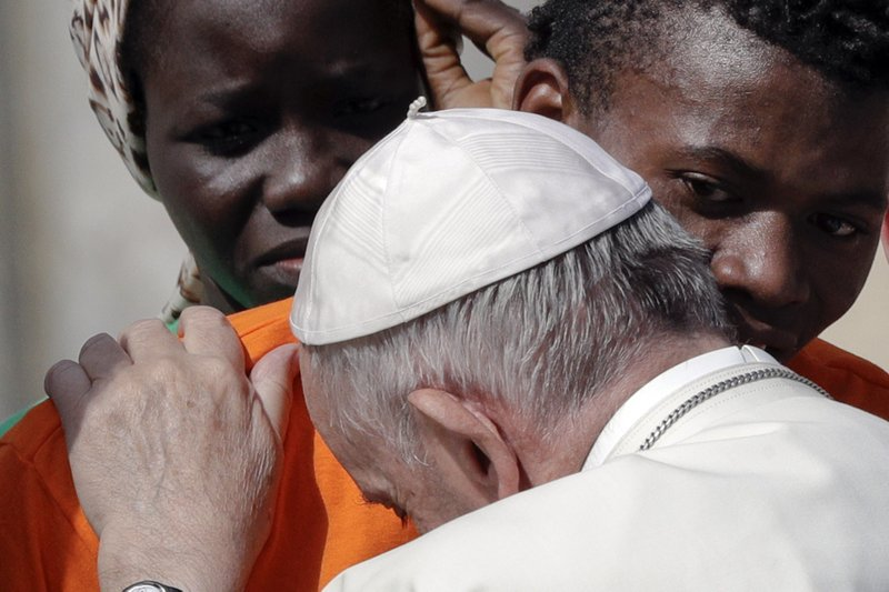 Pope launches awareness campaign about migrants' plight