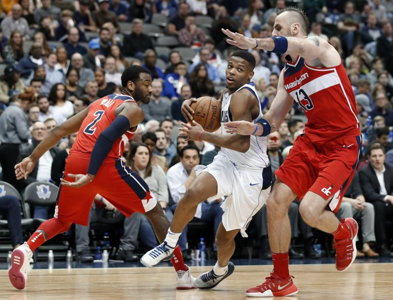 Mavs slow recent slide with season sweep of Wizards 2ce788a50