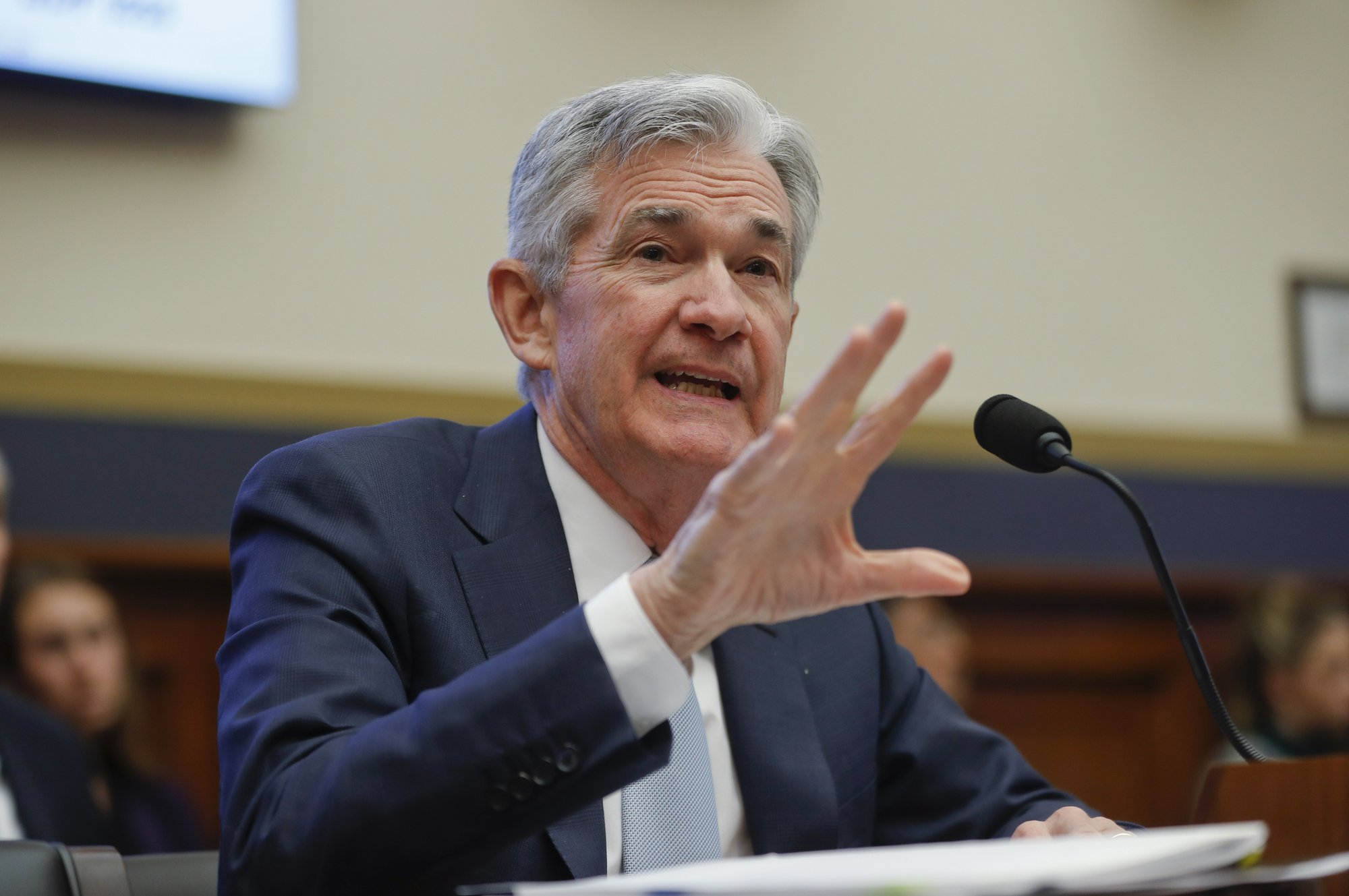 The Latest: Fed to end runoff of bond holdings this year