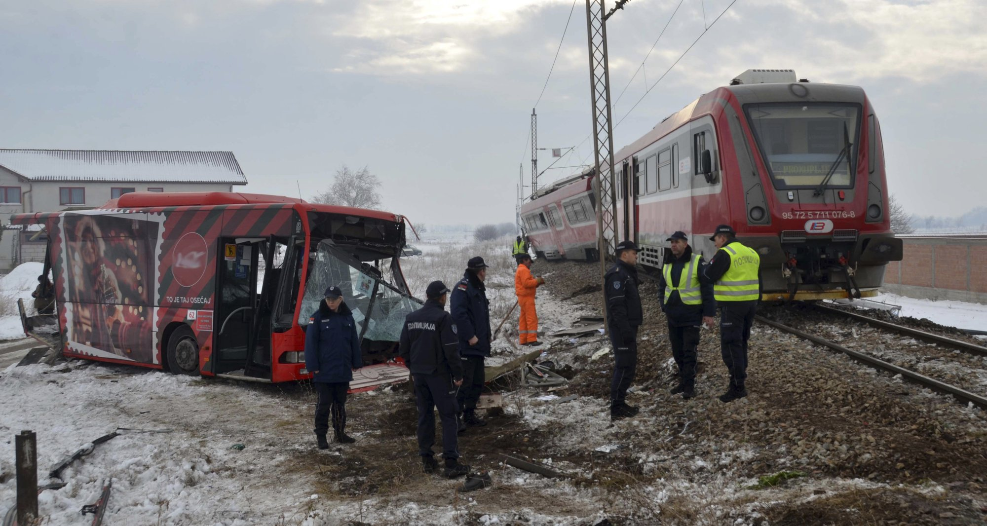 Serbia arrests bus driver as death toll in crash rises to 7