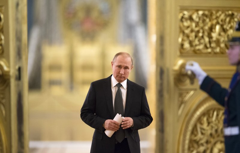 As He Begins A New Term Putin Pushes Lofty Goals For Russia