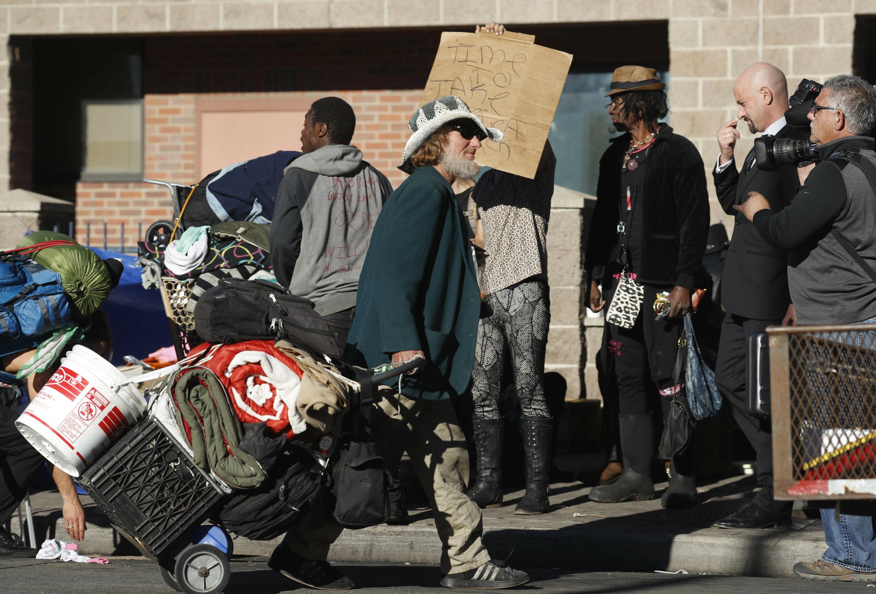 Report: Cities passing more laws making homelessness a crime