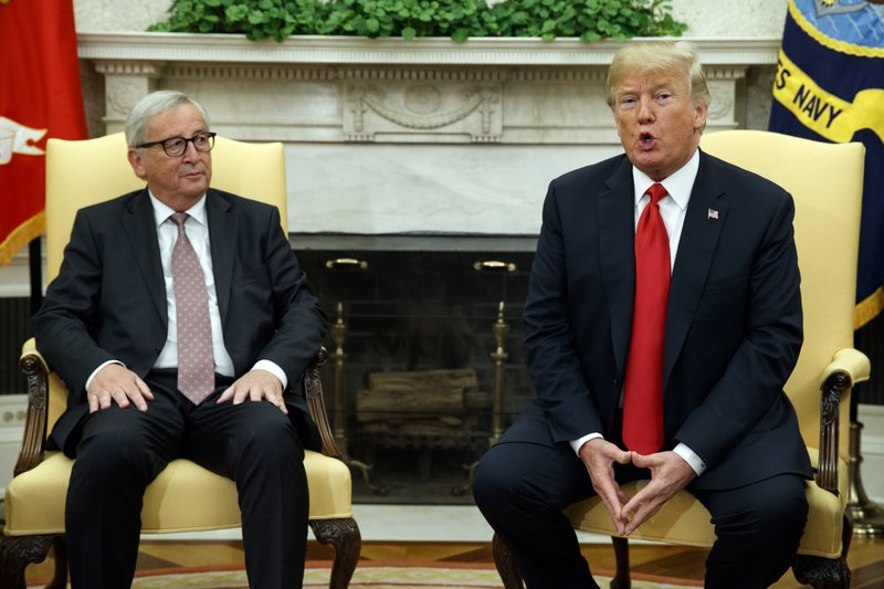 Donald Trump, Jean-Claude Juncker