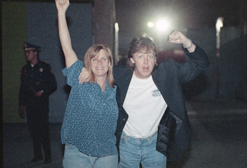 Linda McCartney Europe Entertainment