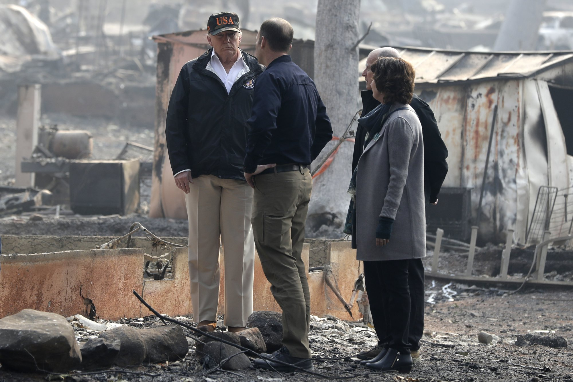 apnews.com - Sudhin Thanawala - Death toll rises to 76 in California fire with winds ahead