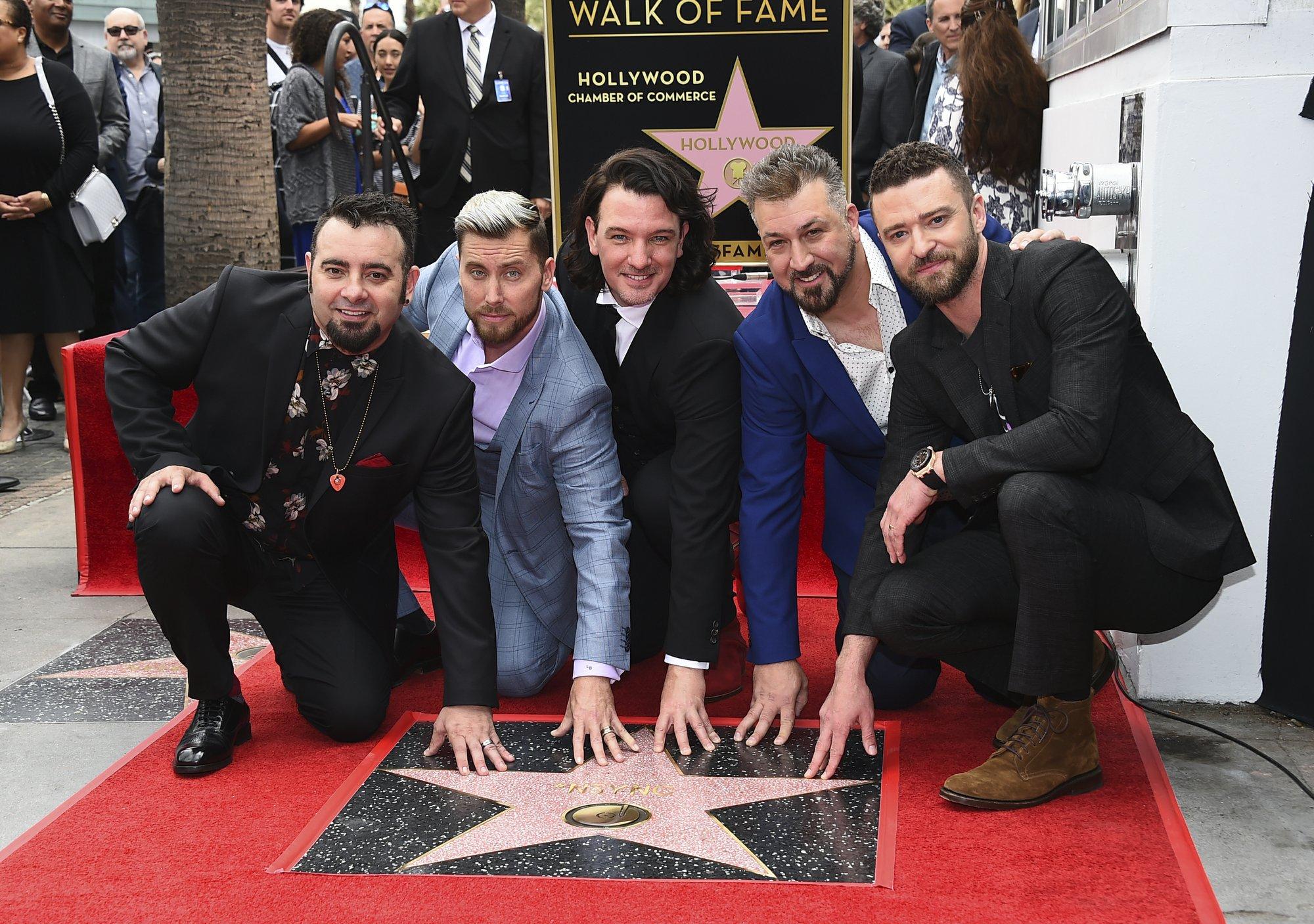 Chris Kirkpatrick, Lance Bass, JC Chasez, Joey Fatone, Justin Timberlake