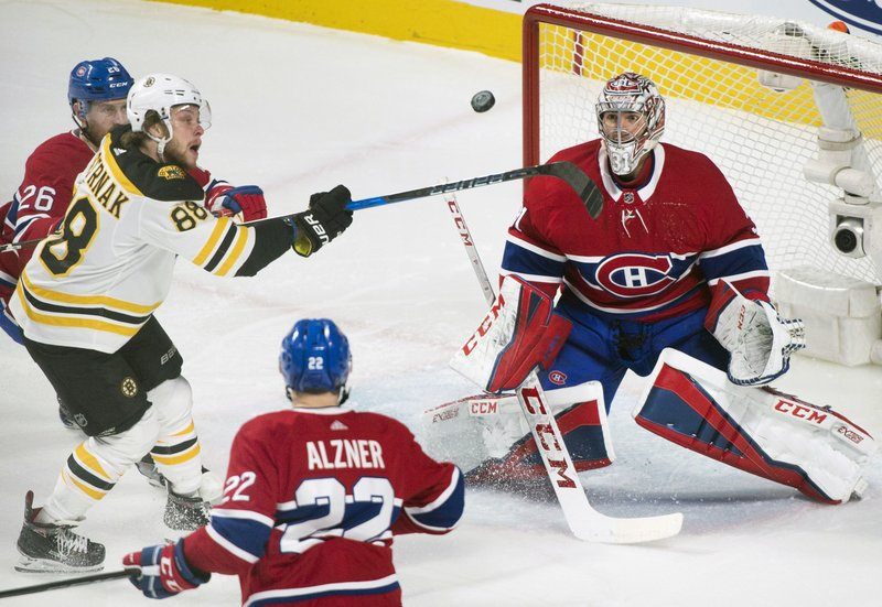David Pastrnak, Carey Price, Jeff Petry, Karl Alzner,