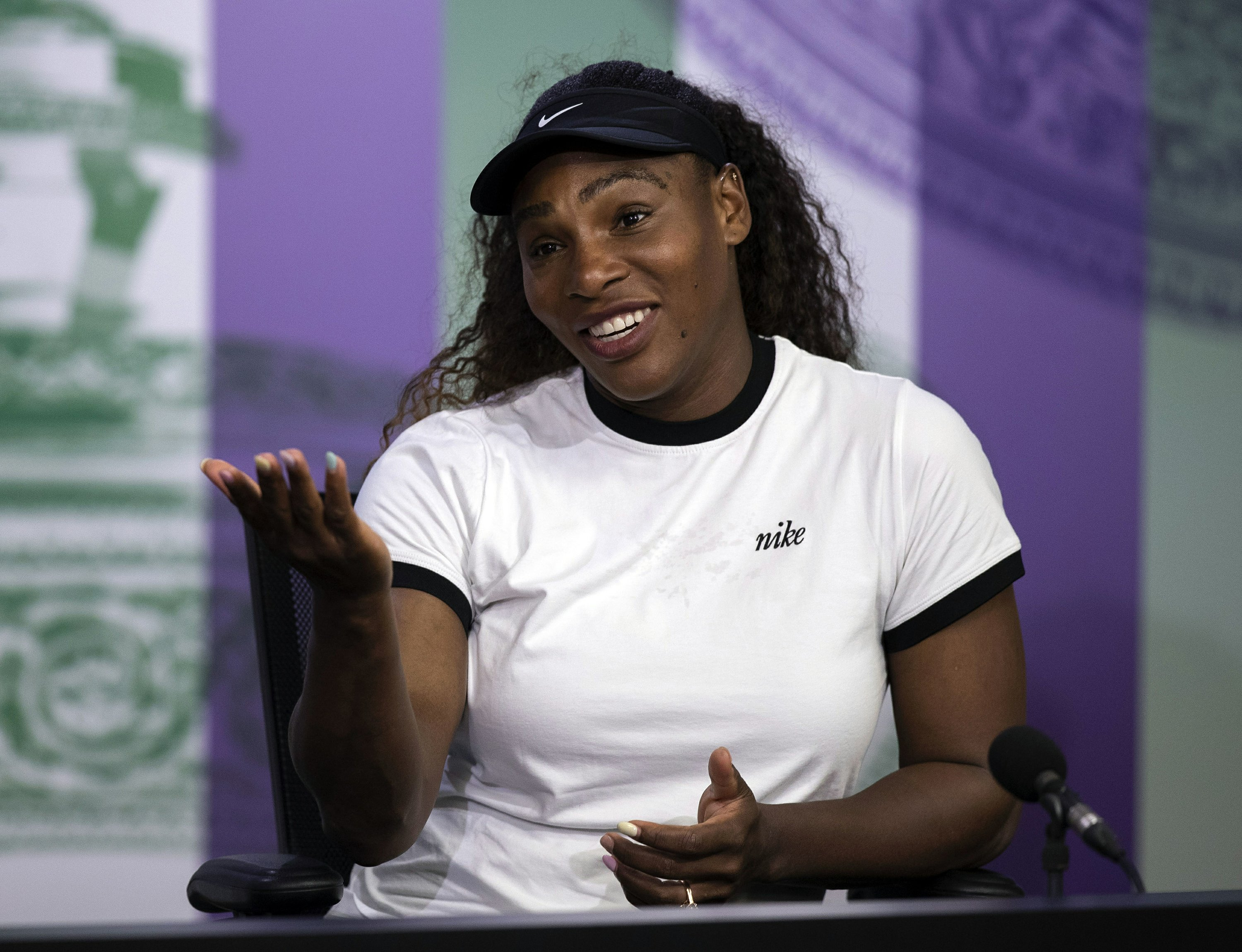 Serena Williams says it's unfair she's drug-tested more