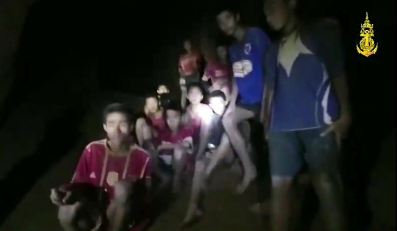 Thai rescuers find boys alive in cave but ordeal not over