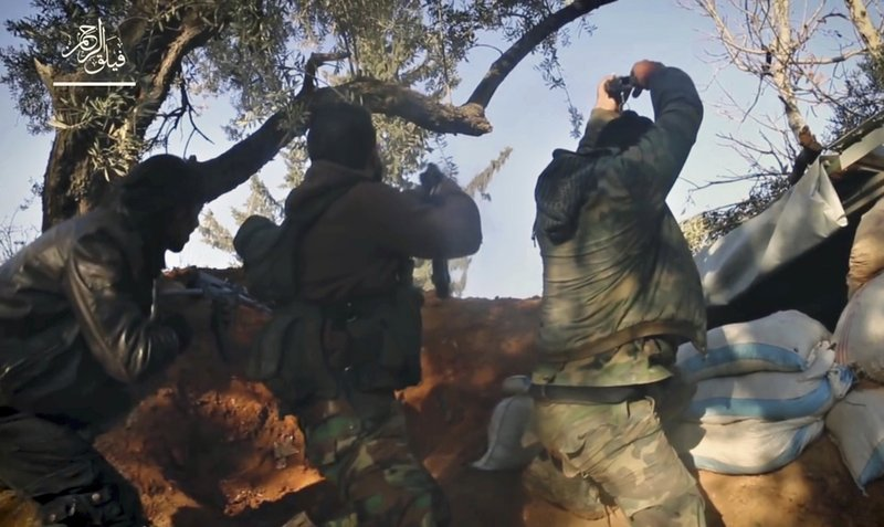 Thousands of well-armed rebel fighters are in Syria's Ghouta (apnews.com)