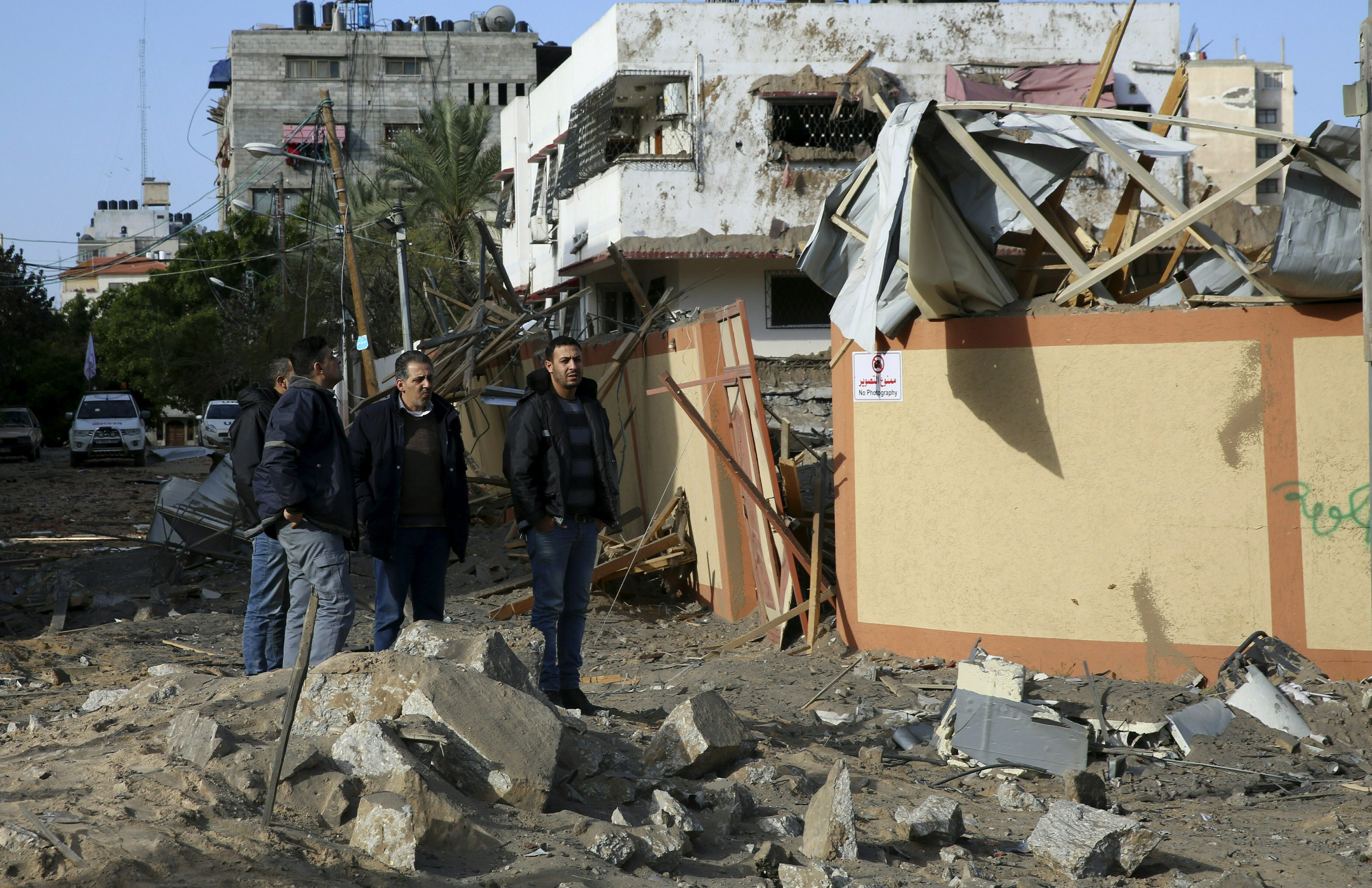 The Latest: Palestinian envoy to UN lashes out at Israel