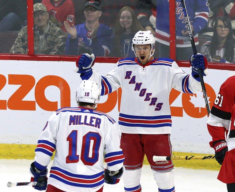 Senators Rangers