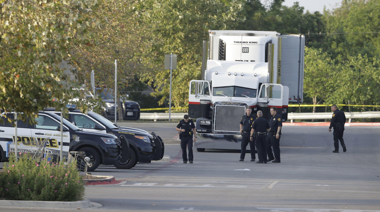 Police: 8 dead in truck, 20 dire in immigrant smuggling case