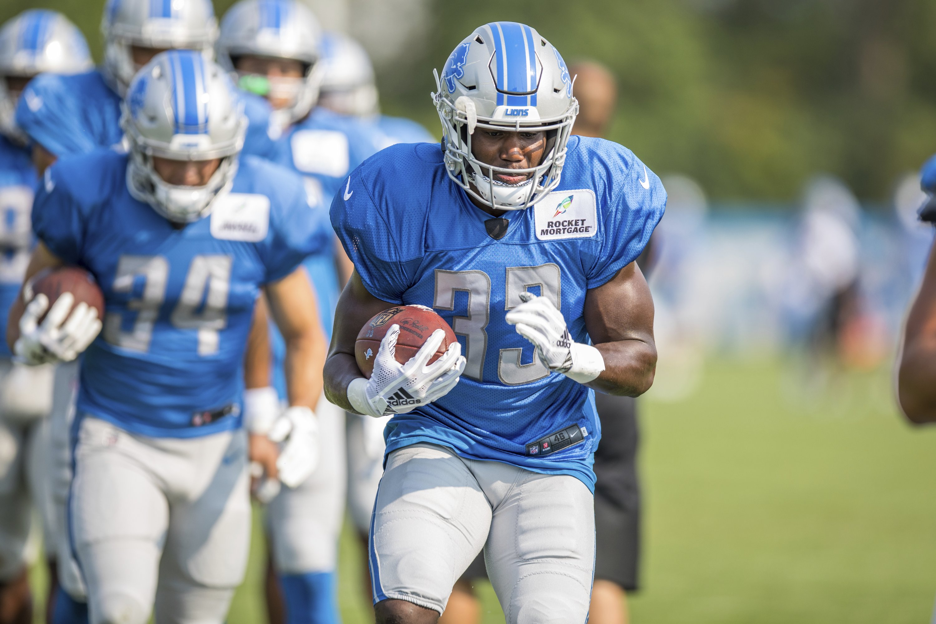 Kerryon Johnson was raised for opportunity he has with Lions d8bf8031e