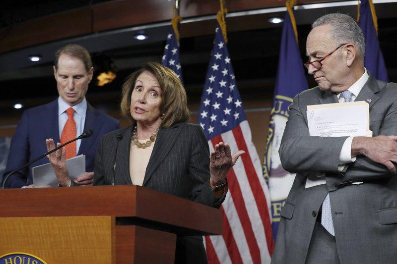 Nancy Pelosi, Chuck Schumer, Ron Wyden