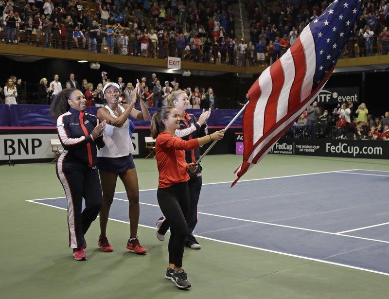 Serena Williams, Venus Williams, Lauren Davis, CoCo Vandeweghe