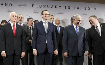 Mike Pence, Mike Pompeo, Mateusz Morawiecki, Benjamin Netanyahu