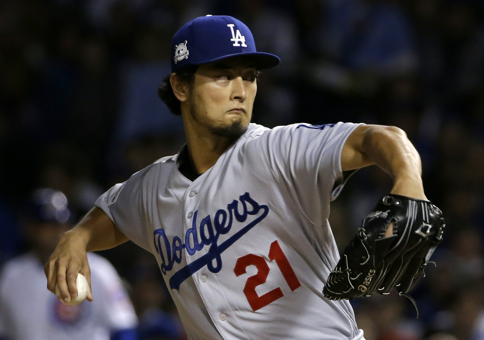 61ee6bc3328 Dodgers close in on World Series with 6-1 win over Cubs