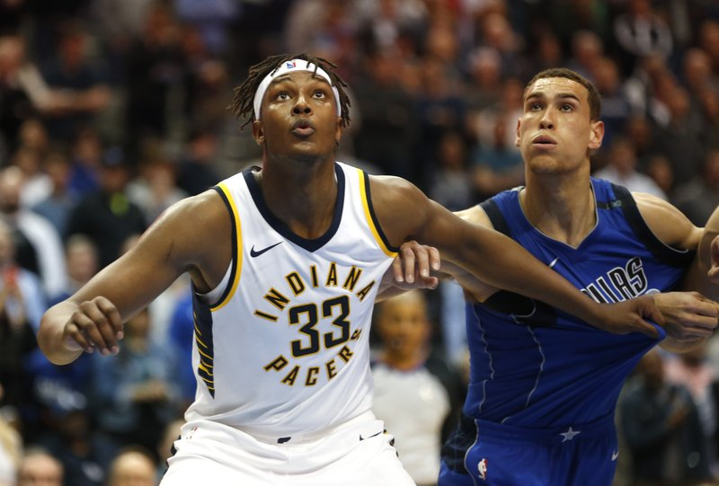 Myles Turner ; Dwight Powell