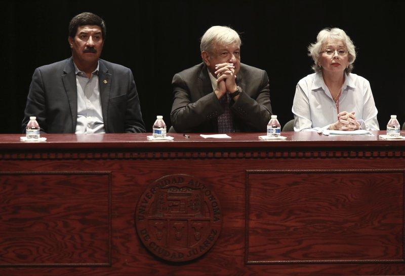 Javier Corral, Andres Manuel Lopez Obrador, Olga Sanchez Cordero
