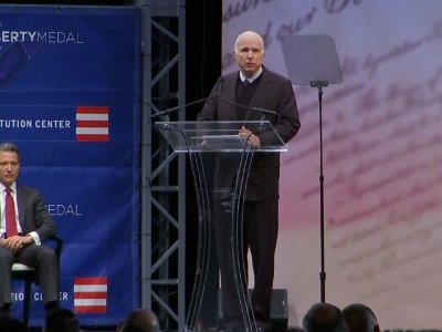 McCain Blasts 'Half-Baked, Spurious Nationalism'