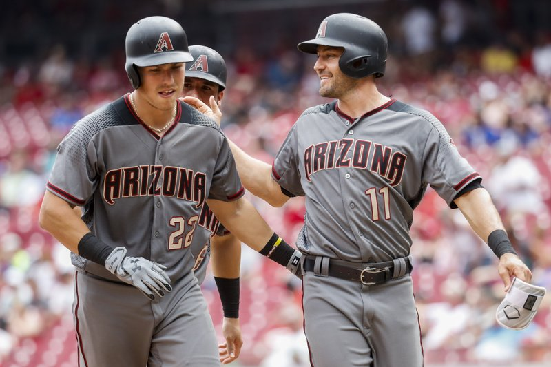 Jake Lamb, David Peralta, A.J. Pollock