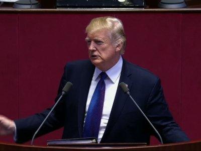 Trump Tells North Korea: 'Do Not Try Us'
