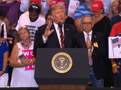 Trump Lashes at Media Over Charlottesville