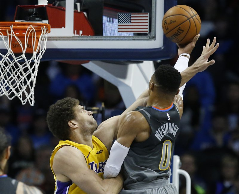 Brook Lopez, Russell Westbrook