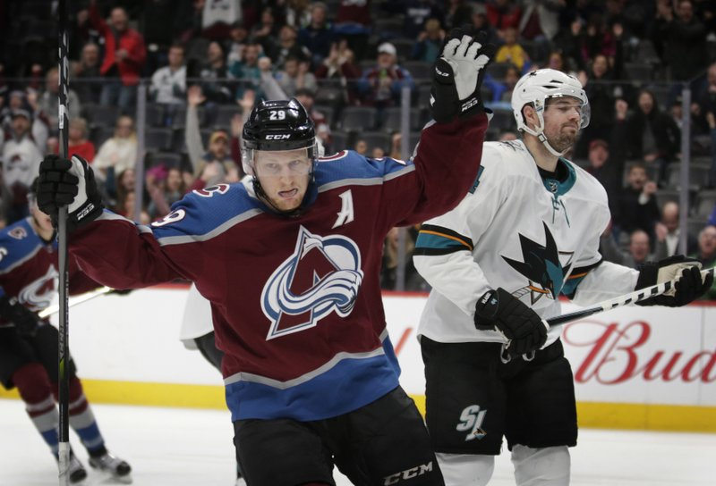 Nathan MacKinnon Marc-Edouard Vlasic