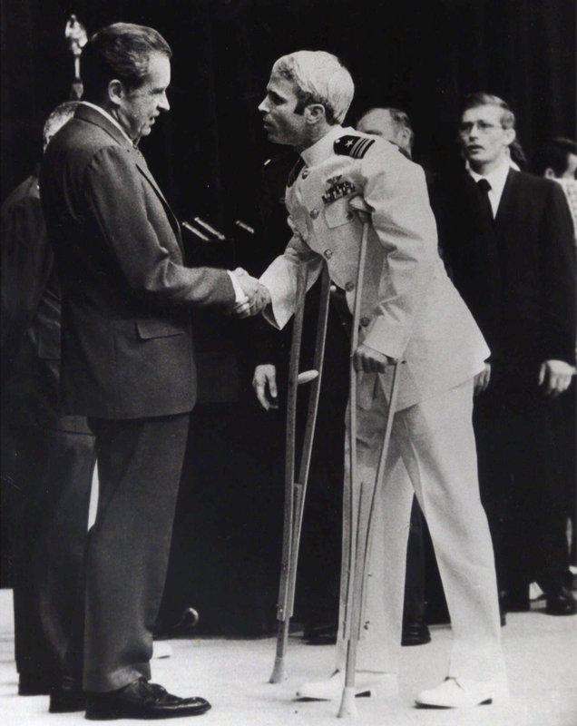 Richard Nixon, John McCain