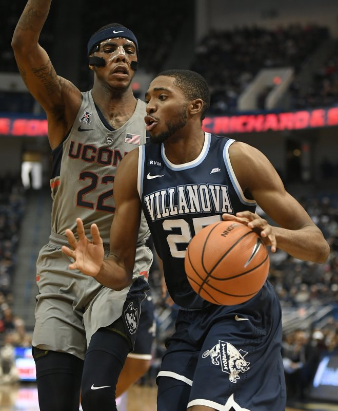 Terry Larrier, Mikal Bridges